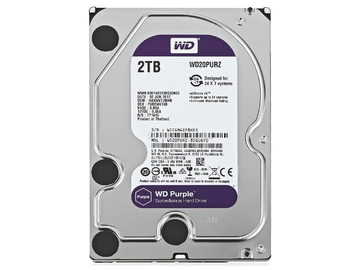 Жесткий диск Western Digital Purple 2 Тб WD20PURZ