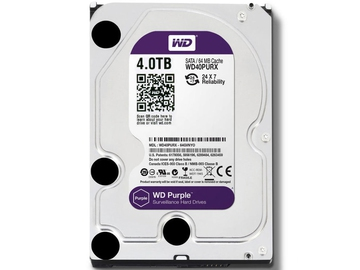 Жесткий диск Western Digital Purple 4 Тб WD40PURZ